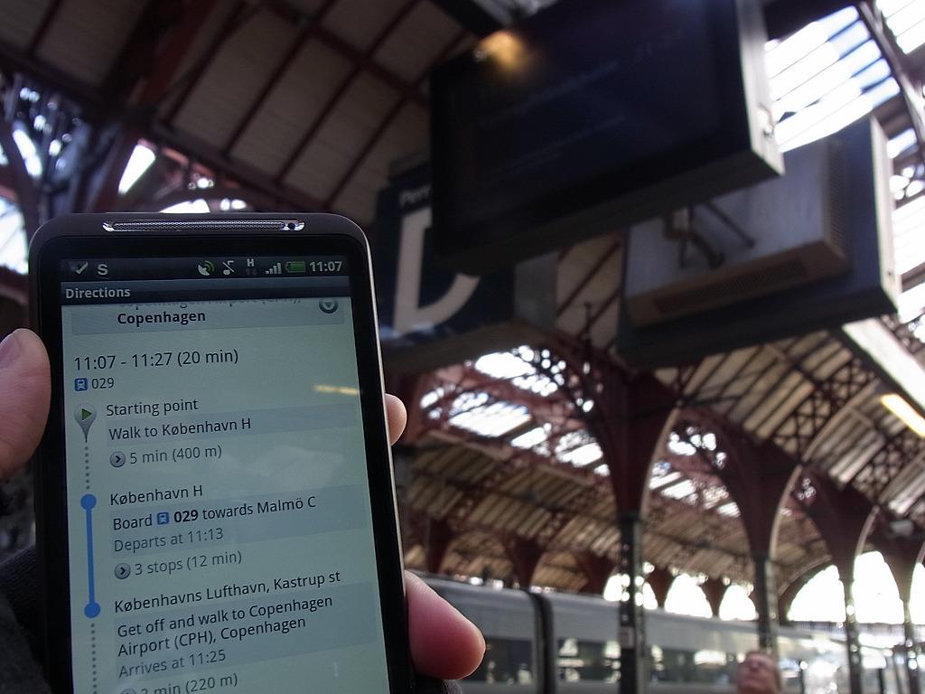 GoogleMapさえ使えれば海外での移動も怖くない!