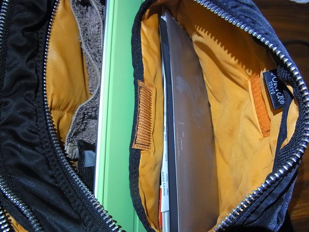 今回の旅行中の手荷物のご紹介