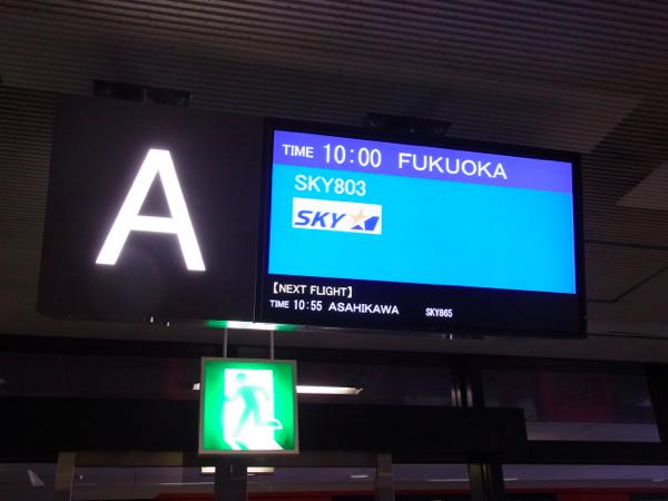 スカイマーク 成田 ⇒ 福岡 SKY 803便搭乗記