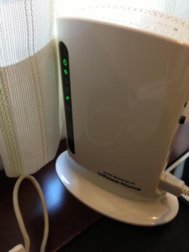 国内旅行中の宿で使う回線としてURoad-Homeが便利だった