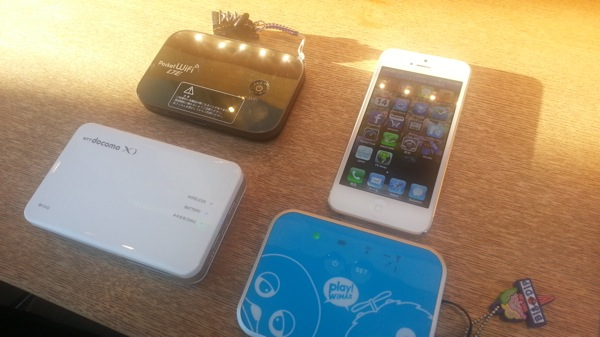 Xi/docomo Wi-Fi/au LTE/WiMAX/EMOBILE LTE スピードテスト