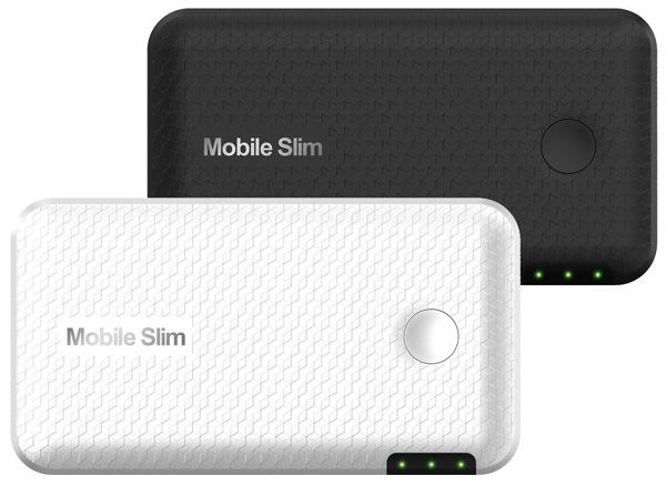 世界最薄 8.2mmのWiMAXルータ『Mobile Slim』発表!3/1より予約販売開始
