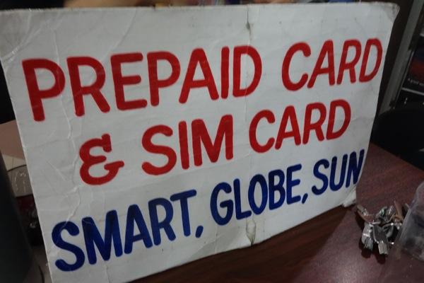 フィリピン クラーク国際空港でプリペイドSIM購入!インターネット定額プランは約120円/日
