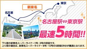 東京駅 ⇒ 名古屋駅が最短5時間の高速バス『新東名スーパーライナー』を2,280円で予約してみた