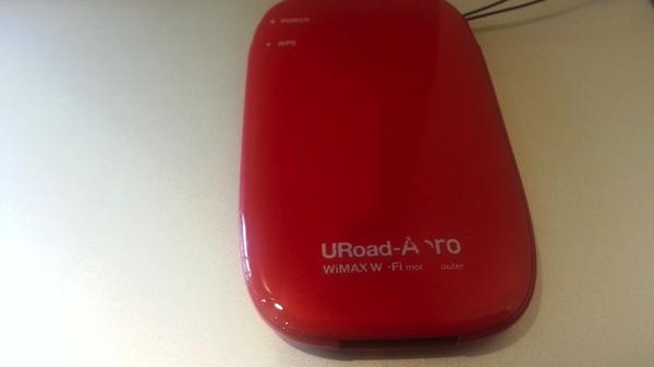 使用中のURoad-Aeroの裏蓋の印字が削れていた