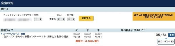 差額返金&5,000円分のクーポン付与!Expediaの最低価格保証を適用して海外ホテルを予約