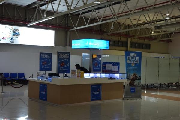 クアラルンプール国際空港 LCCターミナルでCELCOMのプリペイドSIMカードを入手!インターネット定額は1日約170円