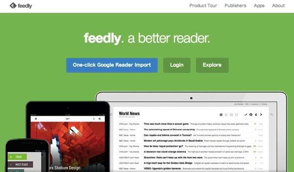 サービス終了まで約1週間!GoogleReader終了に備えてFeedlyへ移行してみた