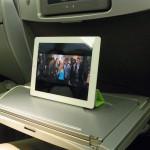 旅行中にiPad 2が大活躍している