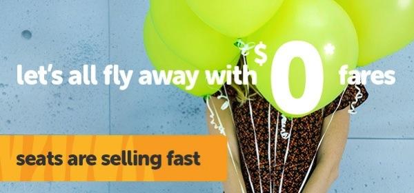 タイガー・エアウェイズが無料航空券を含むセールを開始!