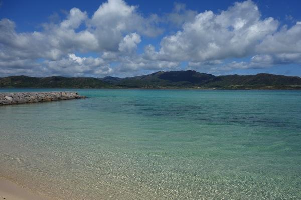 小浜島から見る西表島