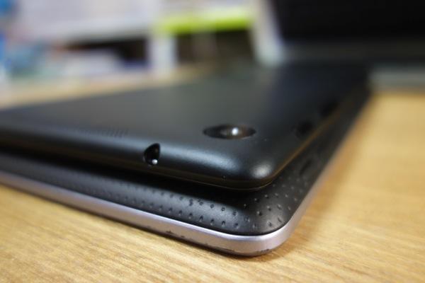 初代Nexus 7との暑さの比較