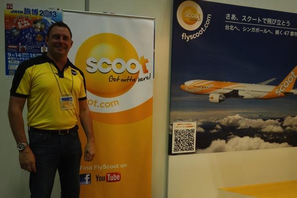 Scoot 2014年夏にB787で関空 ⇔ シンガポール線の就航を計画【旅博2013】