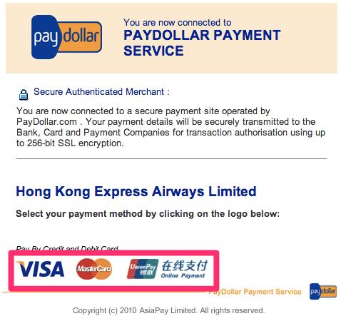PayDollar Payment Service