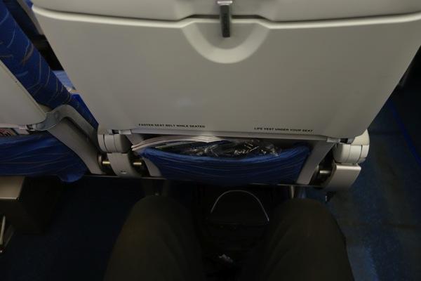 LCCよりも座席間隔は広い