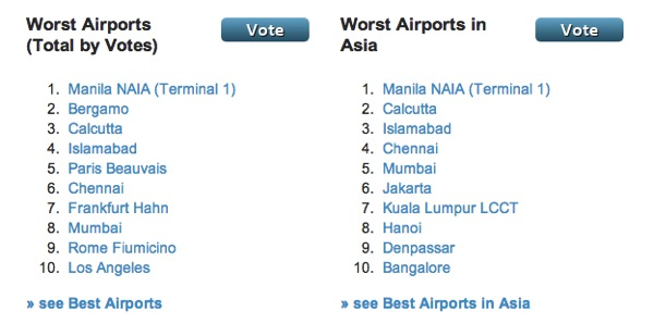 Worst Airports of 2013