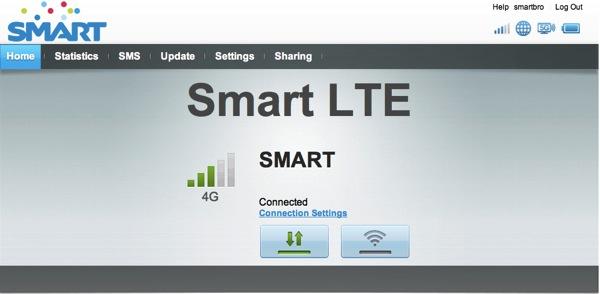 SMARTのLTE対応モバイルWi-Fiルータ『E5372』の管理画面ログイン方法メモ