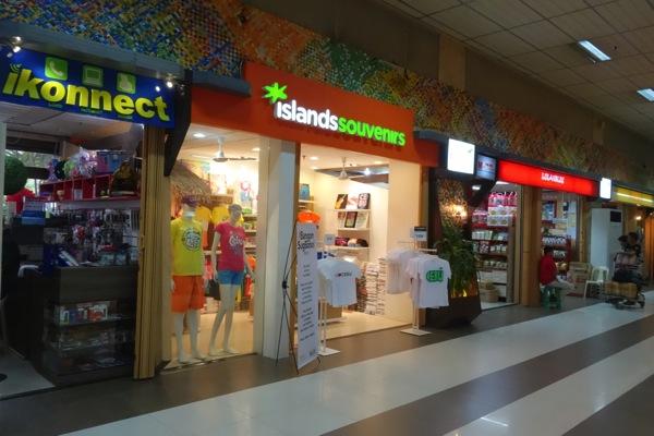 マクタン・セブ国際空港でのプリペイドSIMカード販売場所
