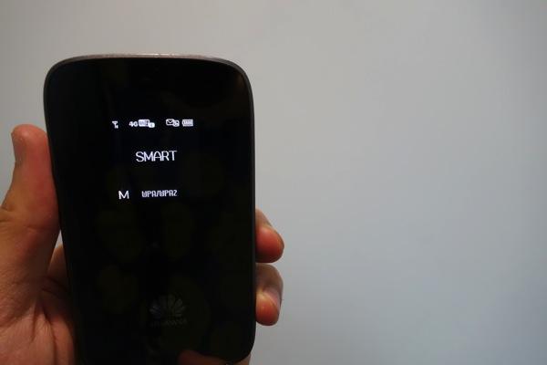 モバイルWi-Fiルータ E589でもSMARTのLTE接続に成功!