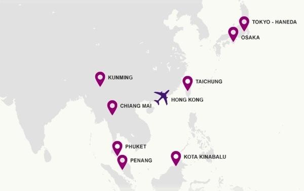 タイ・エアアジア 2014年1月よりチェンマイ ⇔ 香港へ就航か