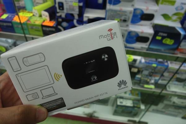 SIMフリーのモバイルWi-Fiルータ『E5776s-32』を香港で購入!