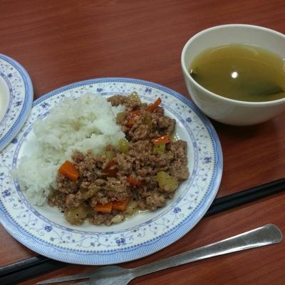 ある日の食事の例(2)