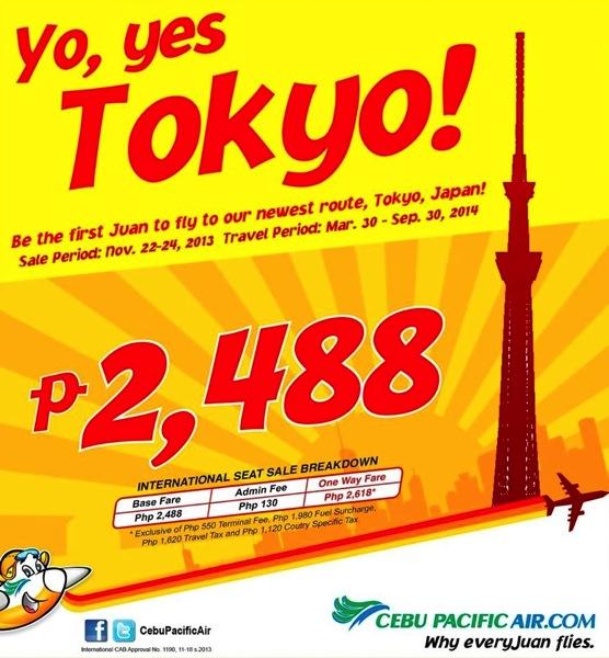 セブパシフィック航空 マニラ ⇔ 東京&名古屋に就航