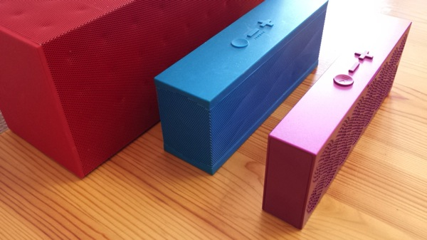 歴代のJAMBOXシリーズ製品とのサイズ比較