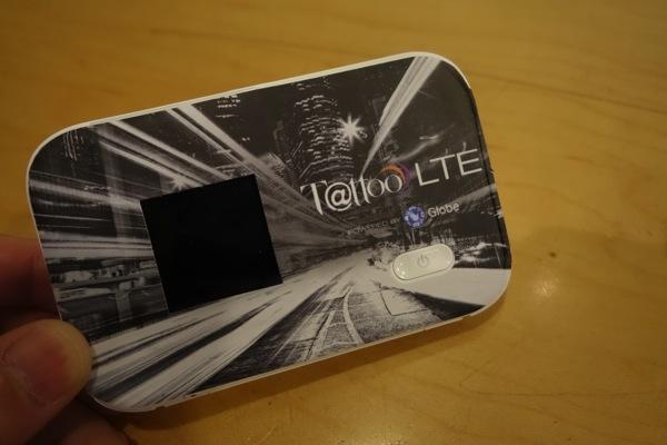 フィリピン、GLOBEが提供する『Tattoo』のLTE対応モバイルWi-Fiルータをプリペイドで購入してみた