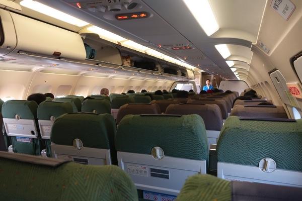 JW 901便 機内の様子