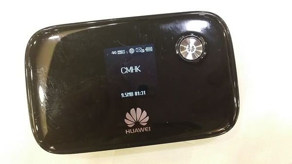 モバイルWi-Fiルータ E5776を中国移動香港のプリペイドSIMで使う