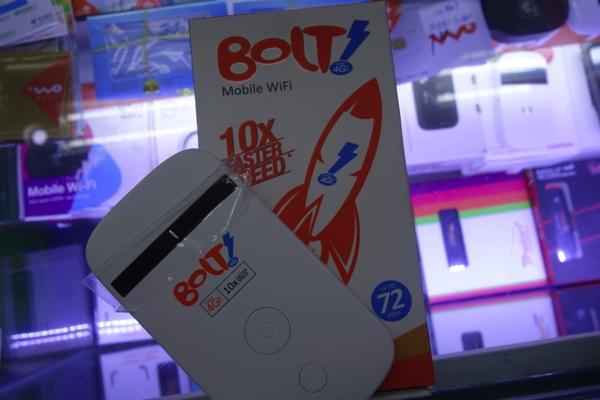 インドネシアのBOLT!の販売するモバイルWi-Fiルータ