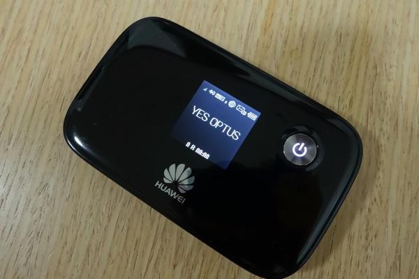 SIMフリーのE5776でOptusのLTEへの接続を確認