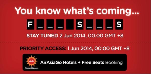 エアアジア、無料航空券を含むセールを開催か/Facebookなどで予告を開始