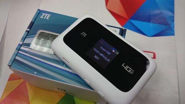 台湾モバイルのLTEに対応するモバイルWi-Fiルータ『MF910』を購入