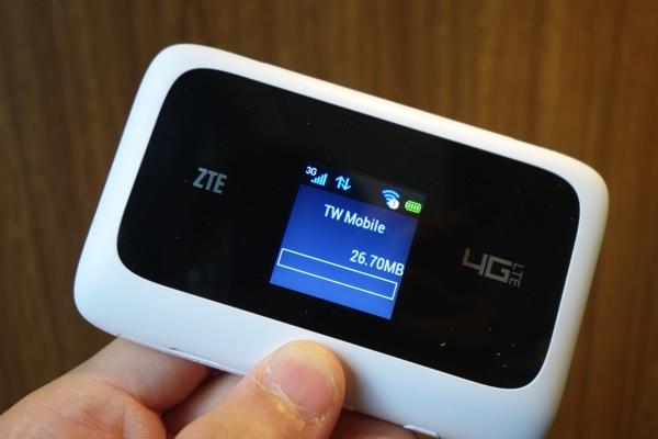 台湾モバイルのLTE対応ルータ『MF910』のセットアップ方法