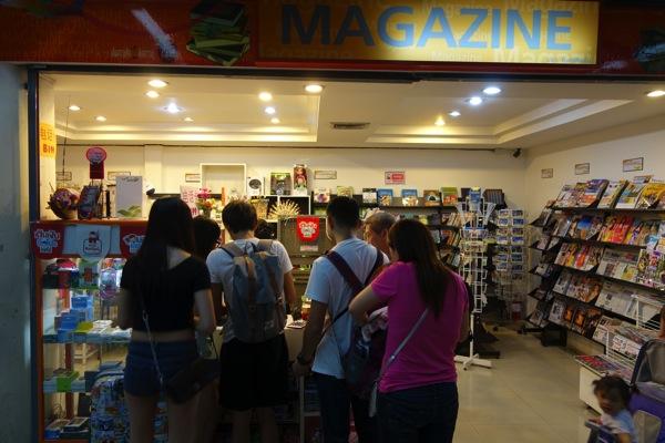 バンコク、ドンムアン国際空港のプリペイドSIMカード販売が改善されていた