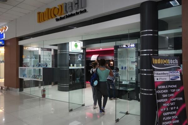 ジャカルタ スカルノハッタ国際空港でプリペイドSIMカードを購入