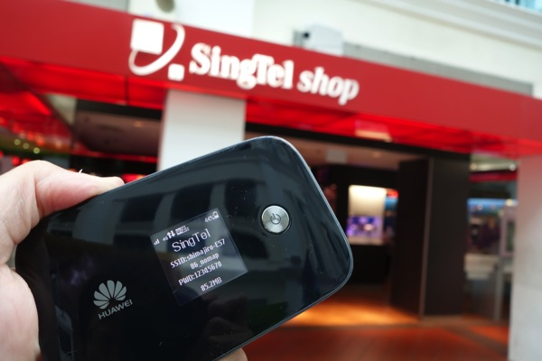 下り最大300Mbps対応のモバイルWi-Fiルータ『E5786』をシンガポールで購入してみた
