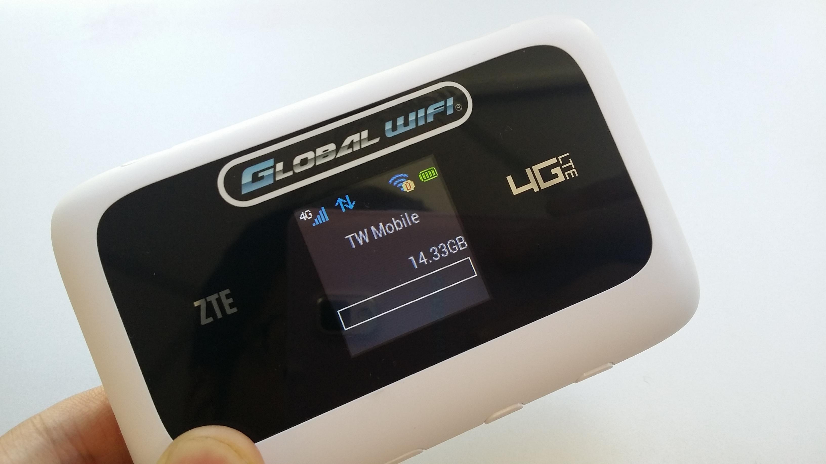 台湾向けの4G LTE対応モバイルWi-Fiルータをレンタルしてみた