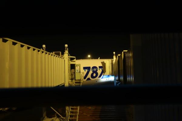 NH 856便はB787にて運行