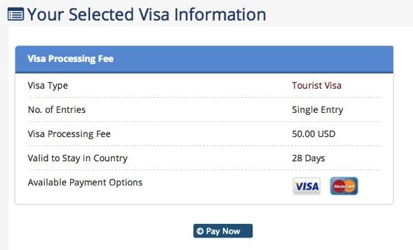 Myanmar eVisa Official Government Website