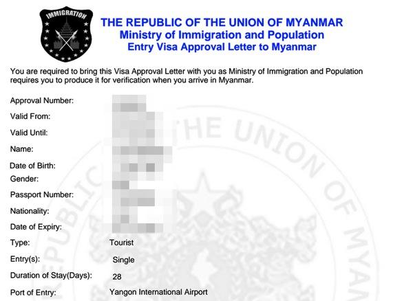EVisa Your Visa Application Result