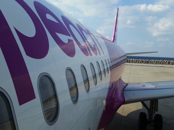 Peach、関空発着便を国内線・国際線共に通常運航に。9月14日(金)〜20日(木)の間
