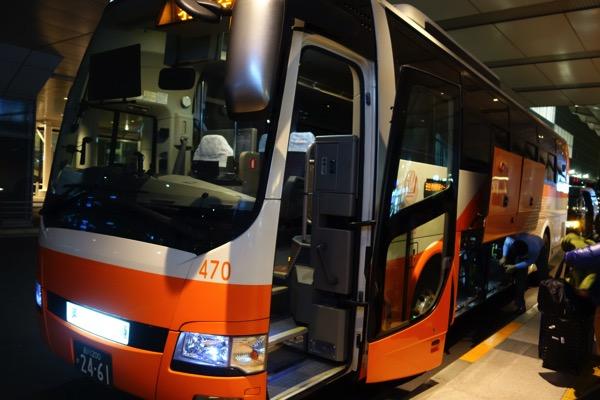 04:35頃 羽田空港国際線ターミナルに到着