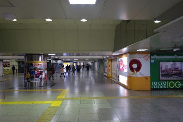 早朝 05:10頃の東京駅