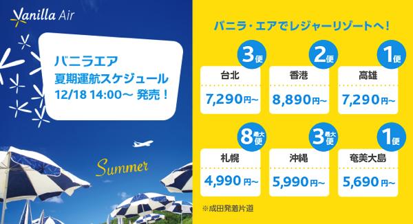 バニラエア:2015年3月28日で成田 〜 ソウル線を運休 – 15年夏季スケジュールは全路線で最低価格を値上げ