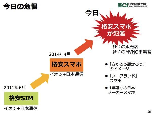 日本通信、2015年3月期 第3四半期決算を発表 – VAIOスマホは2月以降に発売へ