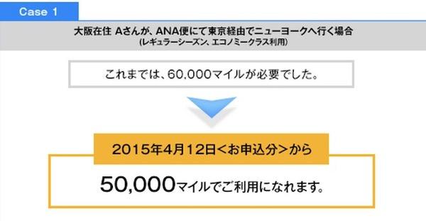 ANA、国際線の特典航空券ルールを4月12日より変更 – 日本国内線の乗継に追加マイルが不要に