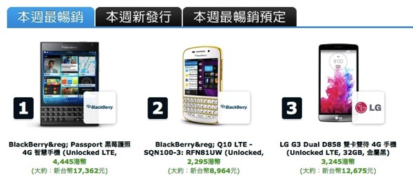 Top 20 Most Popular Smartphones Netbooks and Laptops EXPANSYS台灣